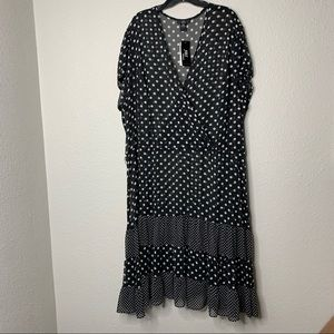 Sheer Bathing Suit Cover-Up Dress sz 28